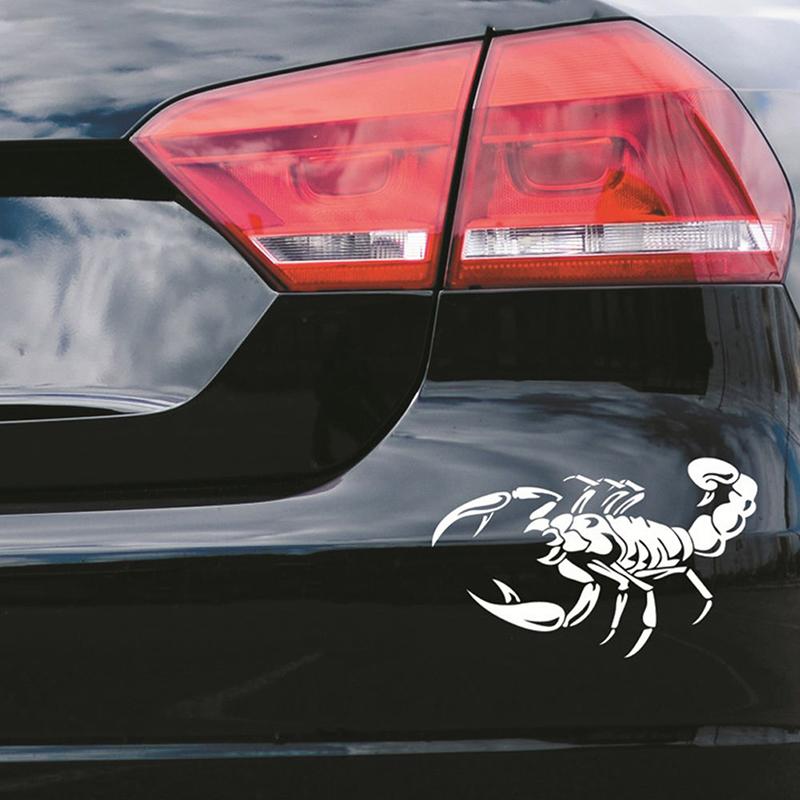 Car-Dekoration-3D-Scorpion-Decal-Sticker-Cooler-Vinyl-Sticker-S6P4 Indexbild 14