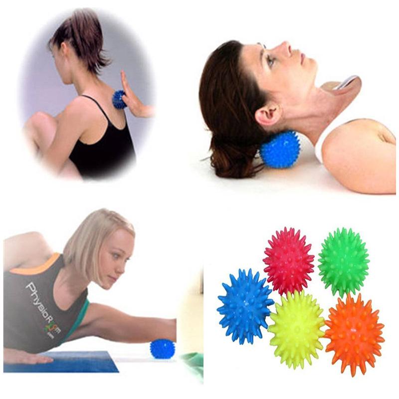 3X-6cm-Massagekugeln-Igel-Kugel-Noppenball-Massagebaelle-Therapieball-MassaMassa