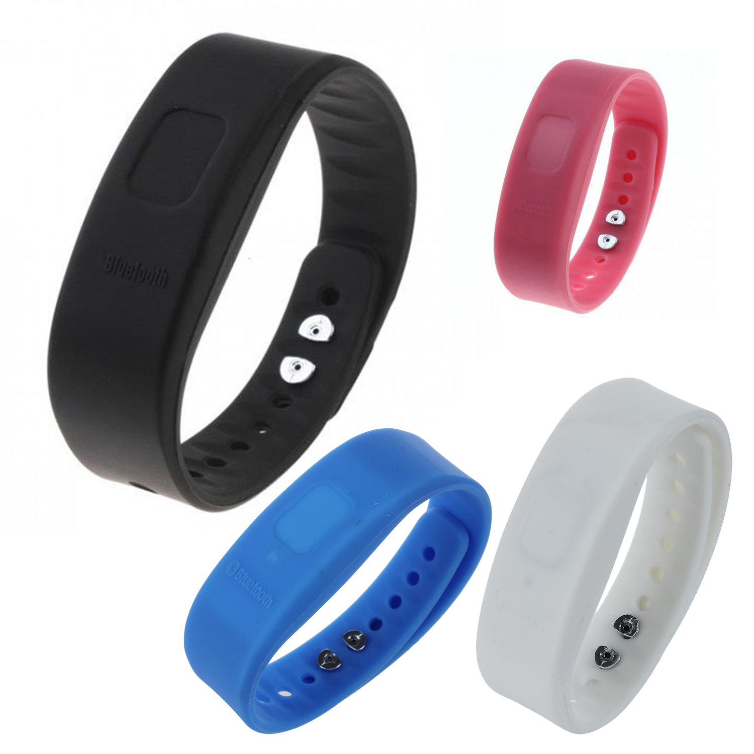 usb bluetooth incoming call vibrate alert anti lost band bracelet s ebay. Black Bedroom Furniture Sets. Home Design Ideas