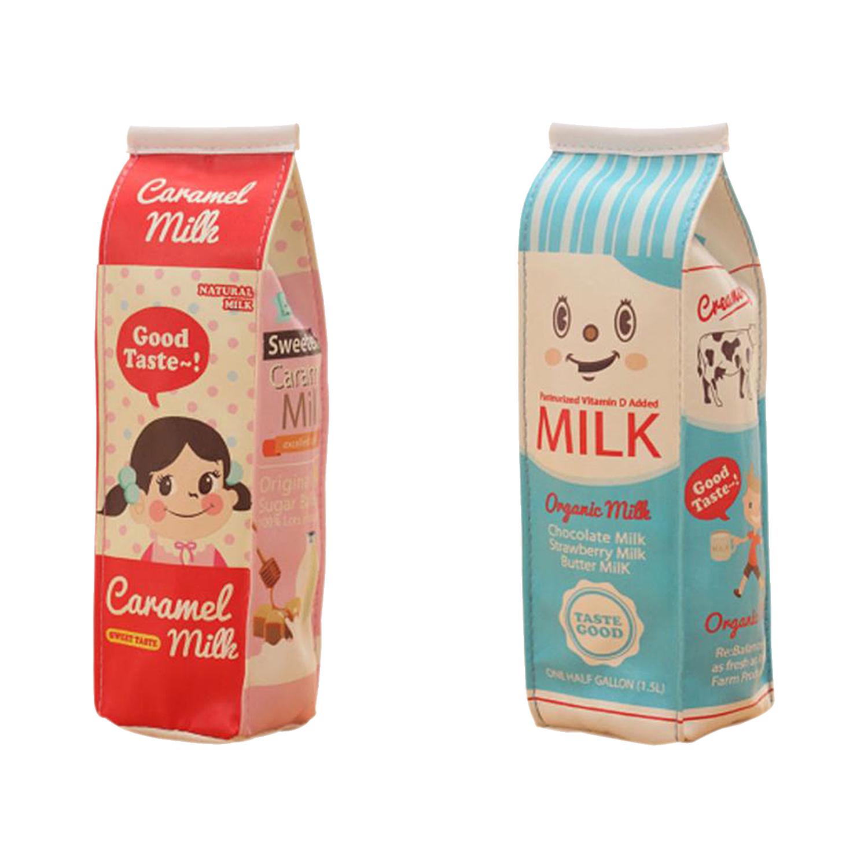new simulation of milk cartons pencil case pu pen bag kawaii rh ebay co uk pictures of milk carton gingerbread houses pictures of chocolate milk cartons