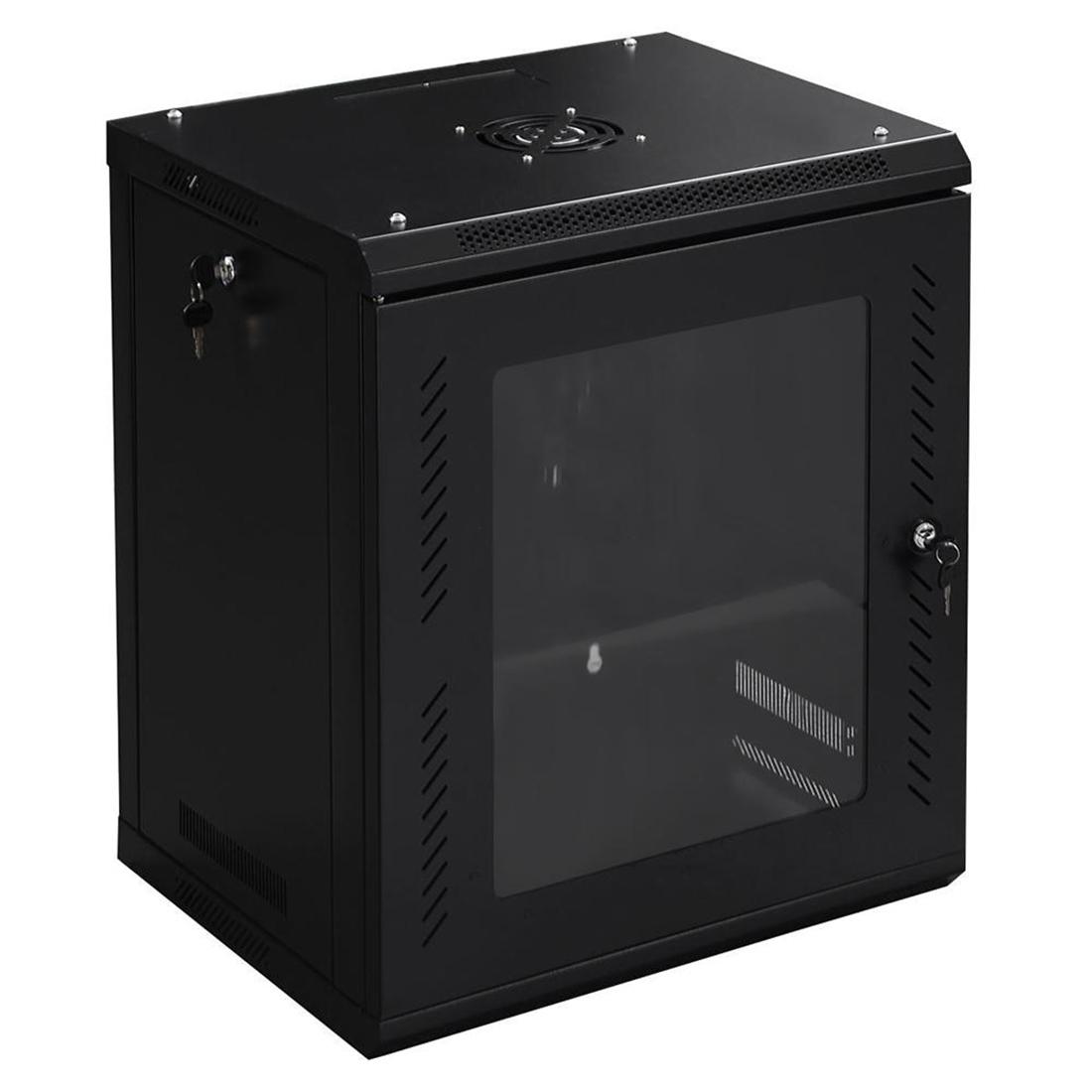 12u Wall Mount Network Server Data Cabinet Enclosure Rack