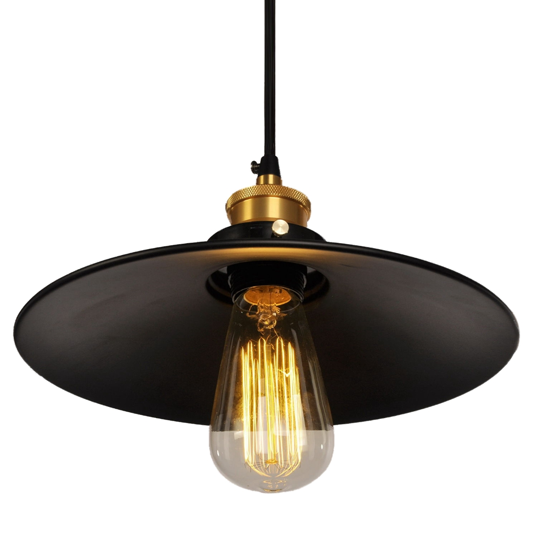 Garage Metal Ceiling Light Retro Chandelier Pendant ...