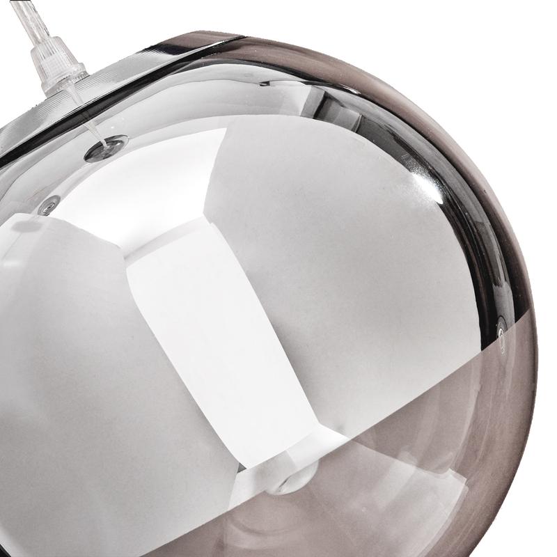 3x suspension lustre plafonnier globe lampe ampoule corps de metal chrome a7c3 ebay. Black Bedroom Furniture Sets. Home Design Ideas