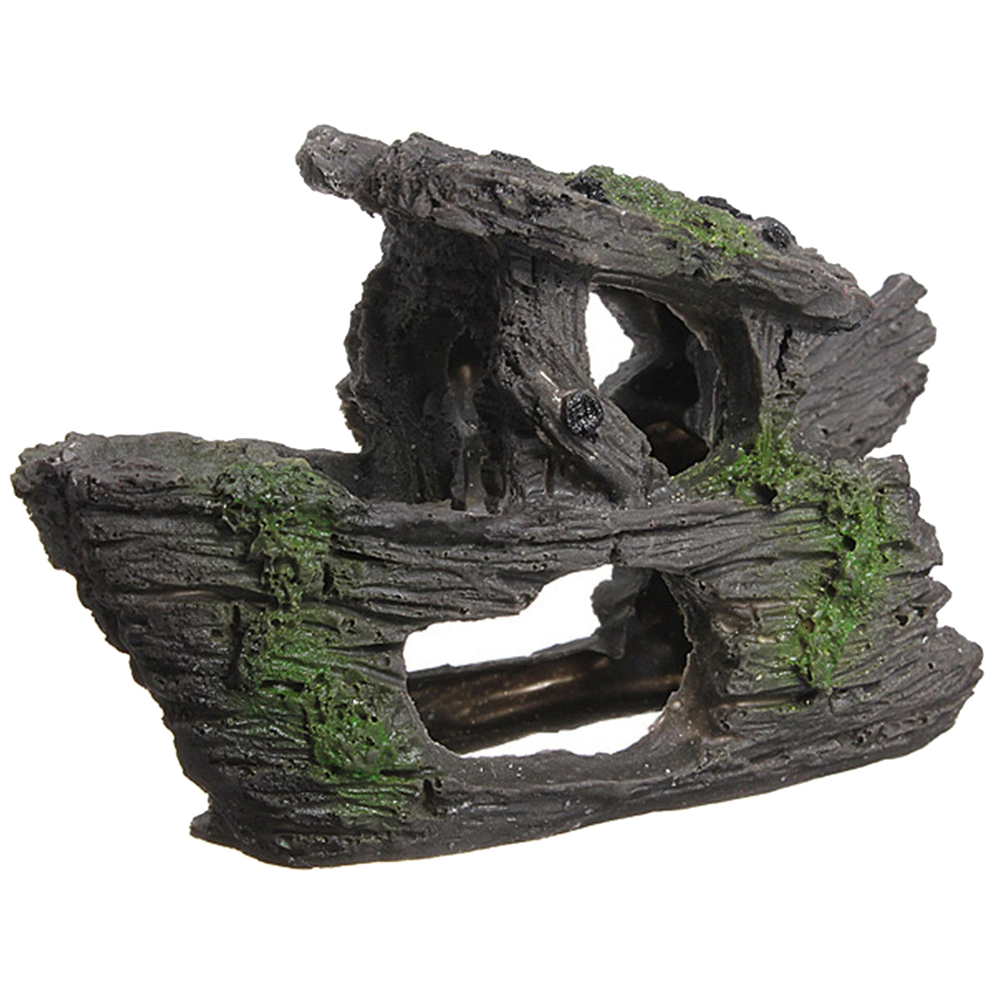 Aquarium decoration rock grotto cave fish tank terrarium for Aquarium decoration paint