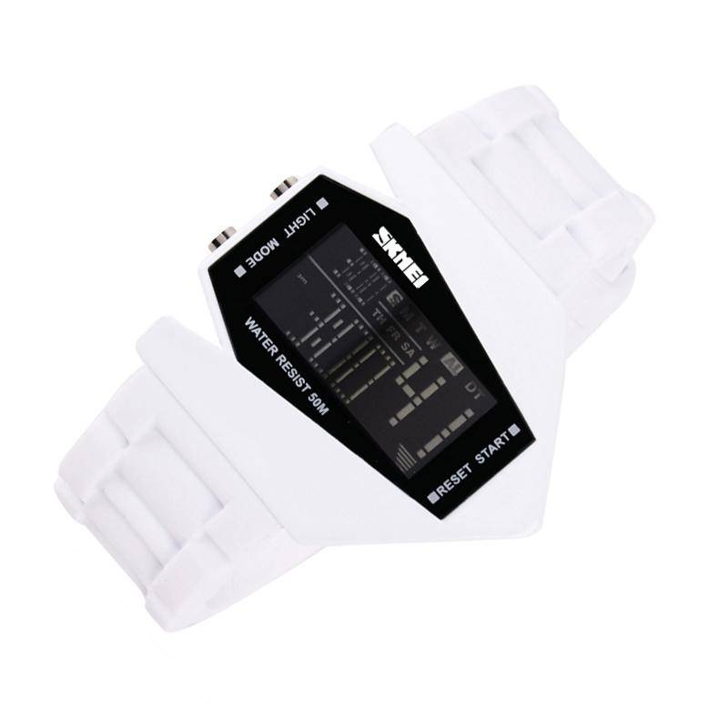 SKMEI-Digital-LED-Creative-Sports-Wrist-Watch-Unisex-Men-Women-Kids-School-BD9N2