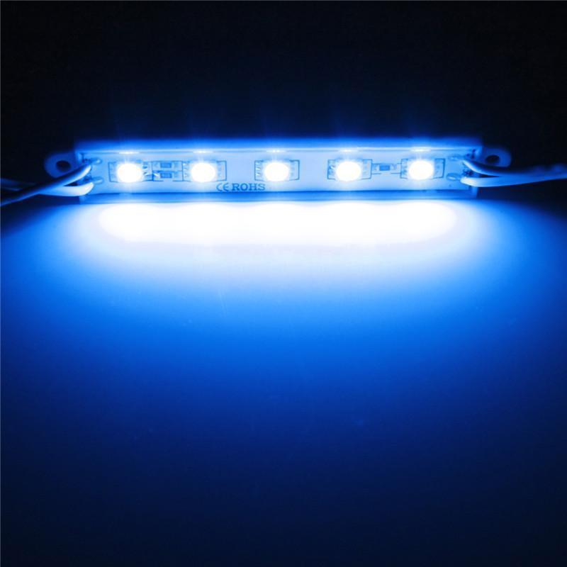 5050 led module 5 smd strip streifen wasserdicht leiste band lampe dc 12v 1 x9v1 ebay. Black Bedroom Furniture Sets. Home Design Ideas
