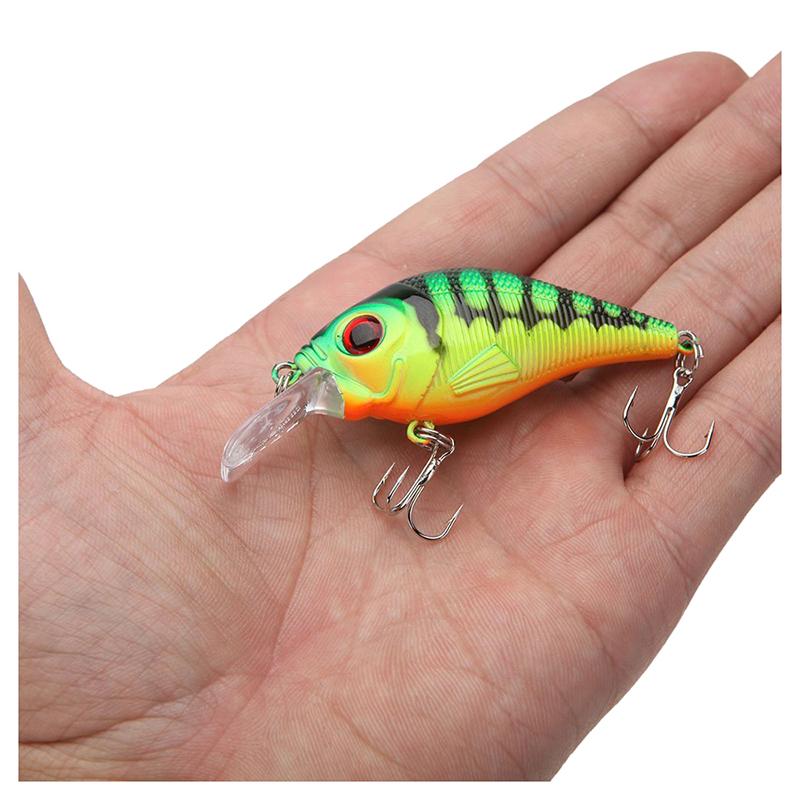 10g-7-5cm-leurre-de-peche-Vivant-dur-leurre-Chubby-Crank-Bait-Tackle-avec-h-U8R4 miniature 5