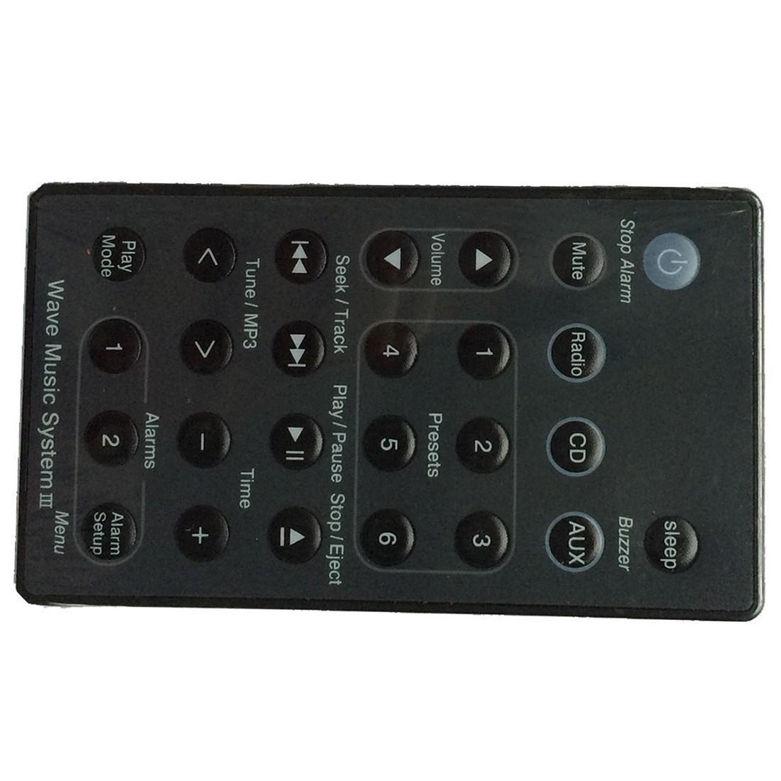 remote black for bose wave radio cd music system awrc c1. Black Bedroom Furniture Sets. Home Design Ideas