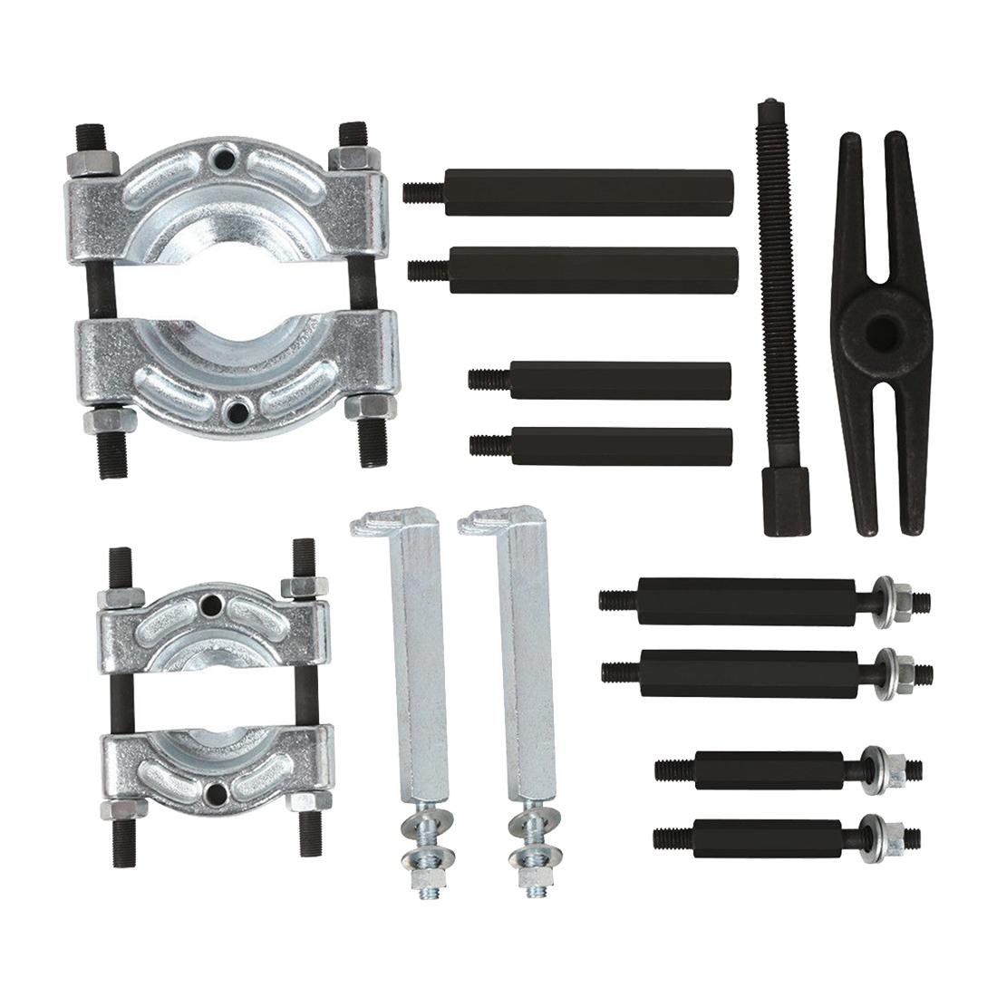 Bearing Puller Material : Bearing puller separator set quot splitters long jaw gear