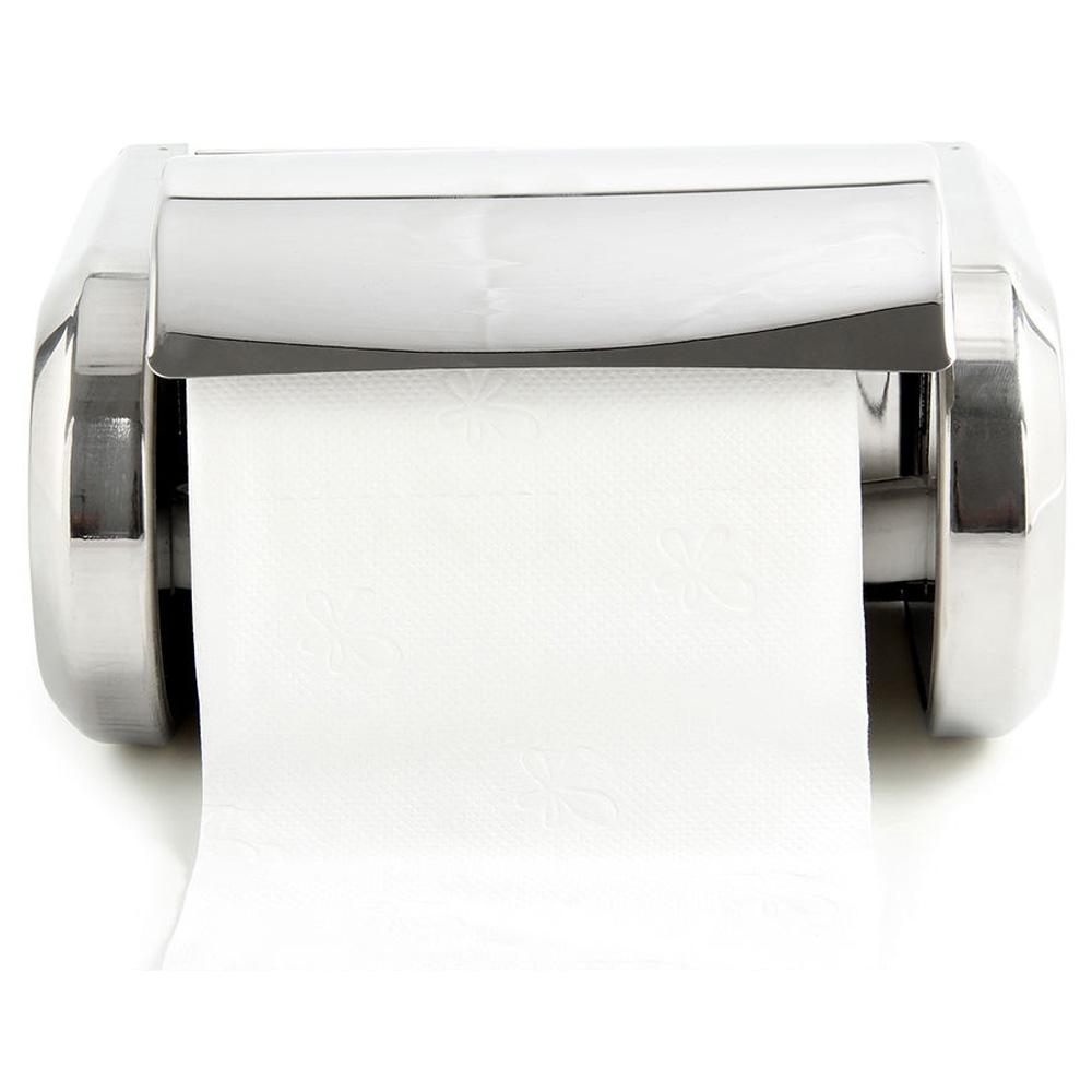10x de edelstahl badezimmer wandmontierte toilette chrom papierhalter tissue bo ebay. Black Bedroom Furniture Sets. Home Design Ideas