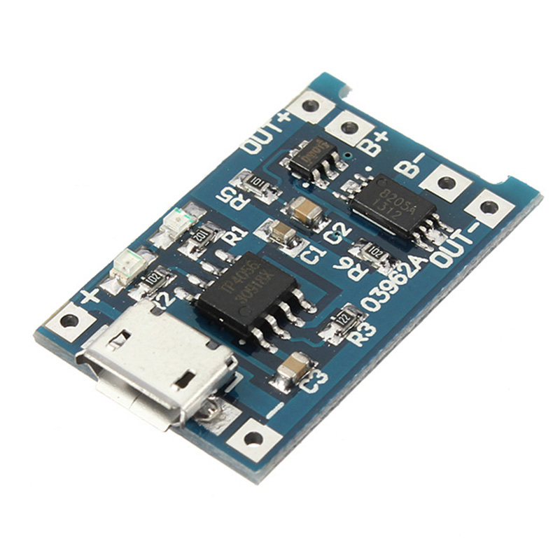 mini-USB-5V-1A-Lithium-Battery-Charging-Module-Lipo-Charge-Board-Protecti-R2X7 thumbnail 2