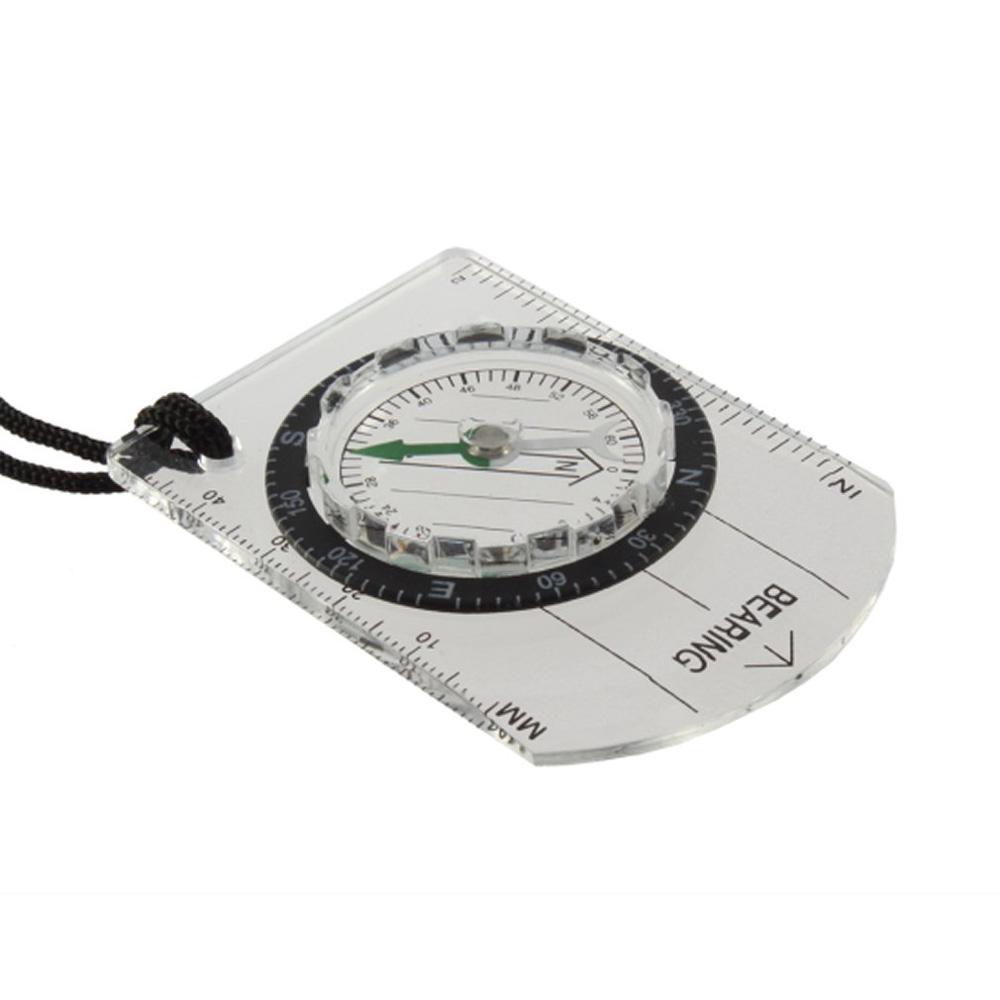 baseplate kompass camping outdoor mit halskordel gy ebay. Black Bedroom Furniture Sets. Home Design Ideas